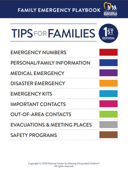 tips for disasters