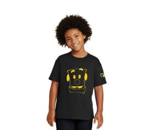 kids wearing click shirt